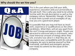 Explain Why You Should Be Considered For The Position Top 10 Sustainability Interview Questions With Answers
