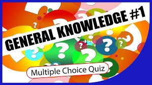 Q General Knowledge 1 Multiple Choice Quiz Q Star Quiz