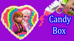 disney frozen valentine wallpaper. Exellent Wallpaper Playdoh DohVinci DIY Disney Frozen Chocolate Candy Box Valentines Day  Holiday Toy Play Doh Vinci With Valentine Wallpaper