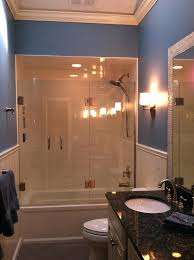 glass door for bath gorgeous shower doors in bathroom traditional with shower next to glass tub