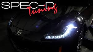 SPECDTUNING INSTALLATION VIDEO: 2006 - 2009 NISSAN 350Z LED HID ...