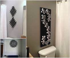 diy wall art ideas for bathroom