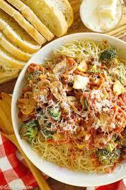 prepare the famous olive garden s capellini primavera at home with this easy pasta recipe it s