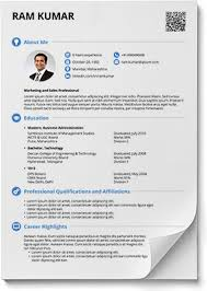 Free Resume Format Inspiration Resume Formats In Word And PDF