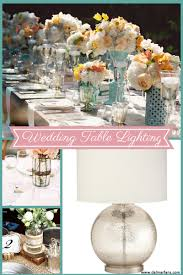 Wedding table lighting Outdoor Wedding Style Table Lighting With Many Tabletop Lights For Wedding Jared Wade Entertainment Outdoor Wedding Lighting Guide For Shabby Chic Affair Delmarfanscom