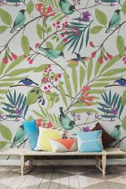 Best 25+ Bird wallpaper ideas on Pinterest | Powder rooms with chinoiserie  inspired wallpaper, Tropical home office products and Birds 2