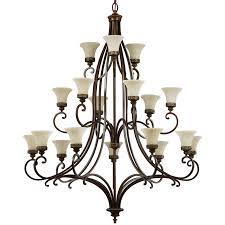 elstead feiss drawing room 18 light chandelier walnut fe drawingrm18