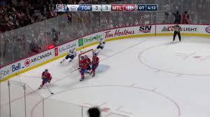 Montreal Canadiens Goal Light Toronto Maple Leafs Vs Montreal Canadiens 10 14 17 Austin Matthews Goal 2