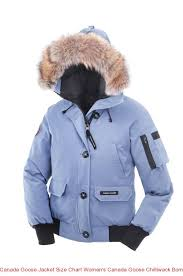 Canada Goose Jacket Size Chart Women s Canada Goose Chilliwack Bomber  Arctic Frost
