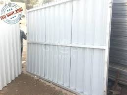 corrugated metal fence cost new globe and power google panels