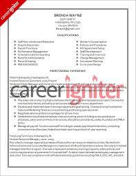 Human Resources Administrator Resume LiveCareer