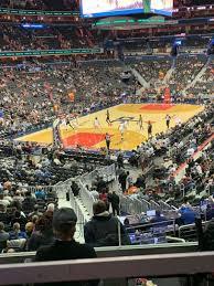 Capital One Arena Seating Chart Basketball Capital One Arena Section 118 Home Of Washington Capitals