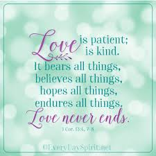 Religious Quotes About Love New Love Is Patient Scripture Love For App Info Wwweverydayspirit