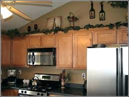decorating ideas for above kitchen cabinets. Kitchen Cabinet Decoration Above Cabinets Decor With Fine Decorations Decorating Ideas For C
