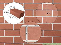image titled build a brick wall step 2