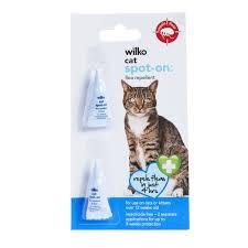 wilko cat spot on flea repellent 2 s image