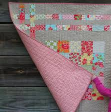 Charm Square Cheat Baby Quilt With Cozy Flannel Backing – Quilting ... & charm-square-baby-quilt-soft-flannel-backing Adamdwight.com