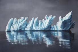 artist zaria forman finger paints creates extraordinary painting images of icebergs of greenland brooklyn