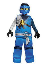 Jay Legos Boys Costume - Boys Costumes