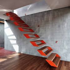 Pictures of staircases for interior design inspiration. Modern Steel Staircase Design
