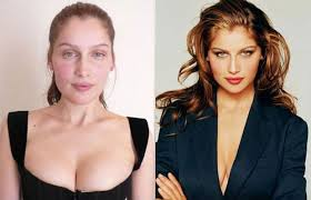 38 eye opening photos of the world s hottest supermodels without makeup laeia casta