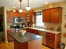 dark oak cabinets kitchen color ideas light for your with white countertops