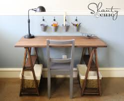 And of course the Sawhorse Desk follows.