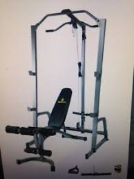 apex cage system with bench