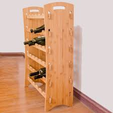 2019 <b>Wooden Red Wine Rack</b> 36 Bottle Holder Mount Bar Display ...