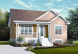 126 1121 this is the front elevation of these small house plans