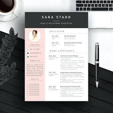 Artsy Resume Templates Resume Design Template Word Resume Objective ...
