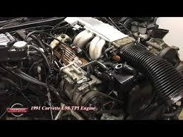 c4 corvette l98 engine tuned port injection 124k wiring harness ecm 1991 corvette l98 tuned port injection engine for