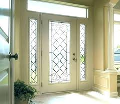 entry doors glass inserts replacement front door grand canada replacem