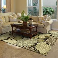 flower living room wool contemporary area rug leawood kansas