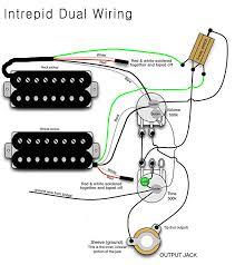 dual humbucker wiring diagram wiring diagram basic dual humbucker wiring diagram