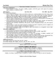 Event Planner Resume Template Event Planner Resume Example