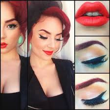 tutorial google search pin up eye makeup the pinup look on pinup rockabilly and pin up pinup inspired makeup