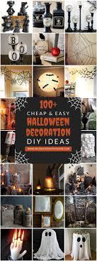 100 Cheap and Easy Halloween Decor DIY Ideas
