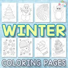 Check out our 20 free printable winter coloring pages. Winter Coloring Pages For Kids Itsybitsyfun Com