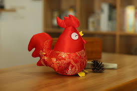Small Picture 2017 Chinese New Year Zodiac Chicken Plush Toy Doll New Hot Xmas
