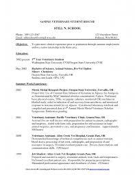 Respiratory Therapist Resume Examples Veterinary Receptionist