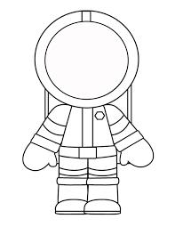 Kleurplaat Thema Astronaut Børnehave Skole Ideer En Tegninger