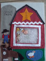 quiet book farm page the i spy bag is attached to the farm with a snap all the s to find are listed on the star