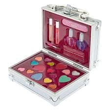 image unavailable image not available for color claire s s bling travel case makeup set rainbow