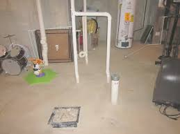 How To Finish A Basement Bathroom Sewage Pump Plumbing Connections ...