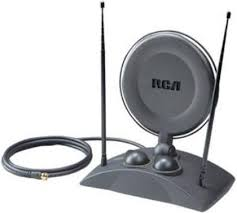 tv indoor antenna. rca ant1250 high-power amplified indoor tv antenna vhf/uhf, 39\ tv d