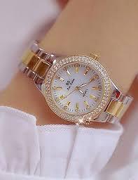 Women's Wrist Watch Japanese Quartz <b>Stainless Steel</b> Gold 30 m ...