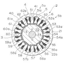 patent us6335582 permanent magnet revolving electrodynamic patent drawing