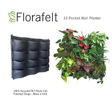 Small Picture Florafelt 12 Pocket Vertical Garden Planter