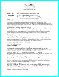College Golf Resume Template Classy Download Professional College Golf Resume Template Resume Examples